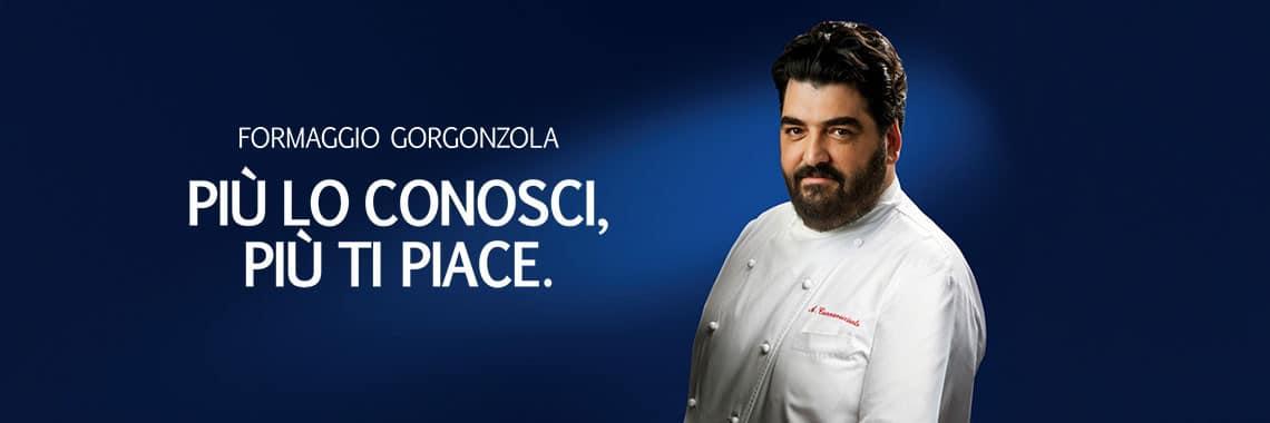 Antonino Cannavacciuolo testimonial del Consorzio Gorgonzola