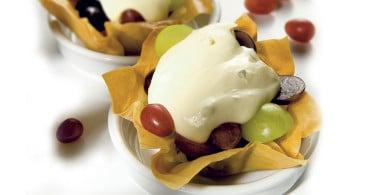 Ricetta Cocotte di pasta phillo e gorgonzola
