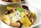 Ricetta triangoli di polenta con gorgonzola