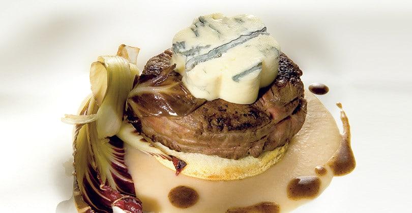 Ricetta filetto di manzo con gorgonzola