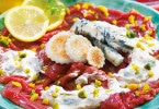 Ricetta Carpaccio con Gorgonzola