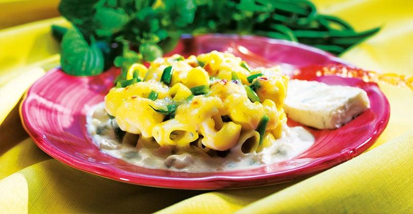 Ricetta pasta, fagiolini e gorgonzola