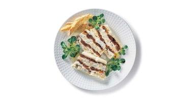 Terrina di gorgonzola ai fichi secchi e noci