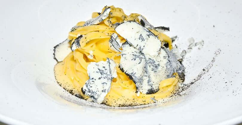 Tagliolini al tartufo di Gorgonzola