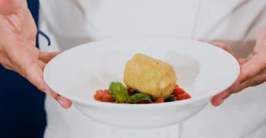 OK - Melanzana, gorgonzola e pomodorini alla mediterranea